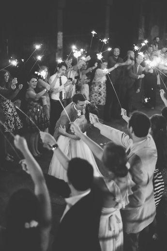 A Romantic Industrial-Vintage Wedding