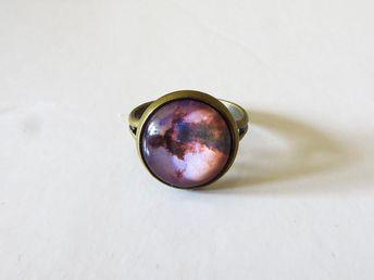 Eagle Nebula, Eagle Nebula Ring, Seprent Constellation, Nebulae, Galaxy Jewelry, Constellation Ring, Space, Space Jewelry, Universe Ring