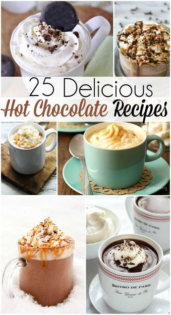 It's that time of year again! With fall comes warm winter blankets, hoodies and hot chocolate! This year change up your routine with some unconventional hot chocolate recipes.