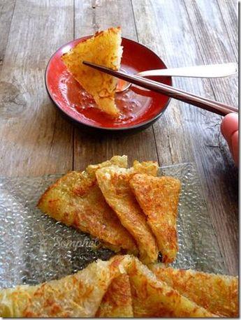 *Galette de pomme de terre à la chinoise* - La fourchette gourmande