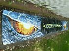 Vtg. GODZILLA (1998)Original VINYL MOVIE THEATER ROOF BANNER- HUGE 24 FEET LONG! #MovieMemorabilia