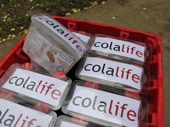 ColaLife is amazing idea that didn't come from Coke.