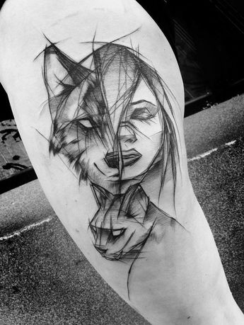 8beba0c9a Polish Tattoo Artist Shows The Beauty Of Imperfection With Her Sketch  Tattoos (101 Pics)