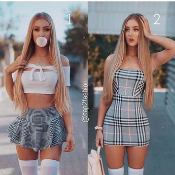 "Fashion na Instagramie: ""Which one you like it?💕1 or 2 Comment below Follow 👉@beautifulfashion222 Follow 👉@beautifulfashion222 Follow…"""