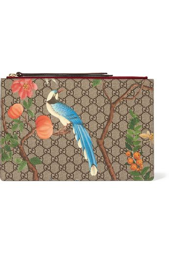Gucci | Pochette en toile // www.leasyluxe.com #style #gucci #leasyluxe