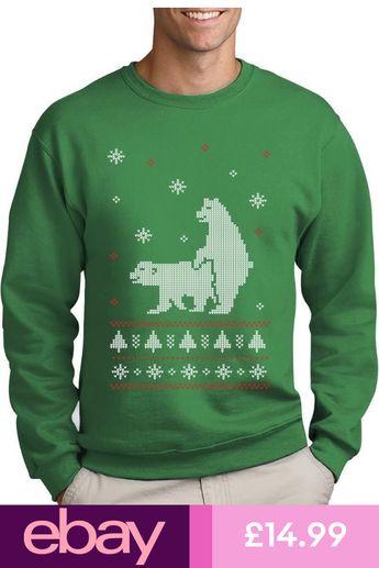 humping polar bears ugly christmas sweater funny sweatshirt xmas - Ugly Christmas Sweater Ebay