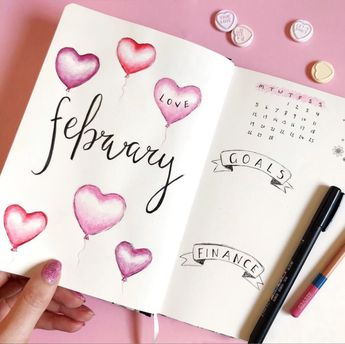 What to put in your February Bujo