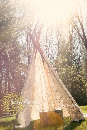 finally made a teepee! so easy! DIY teepee, bamboo, lace, inspiration shoot visit my website www.lisawilliamsphoto.com
