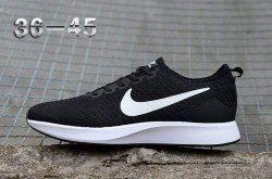 316f35526eec2e Nike Air Zoom Mariah Flyknit Racer Unisex Sneaker Black White