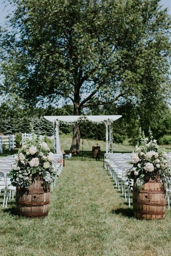 48 Rustic Backyard Outdoor Wedding Ideas