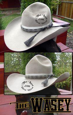 c87af5eb293 Tom Mix s Personal Stetson Hat A wonderful. Tom Mix Stetson