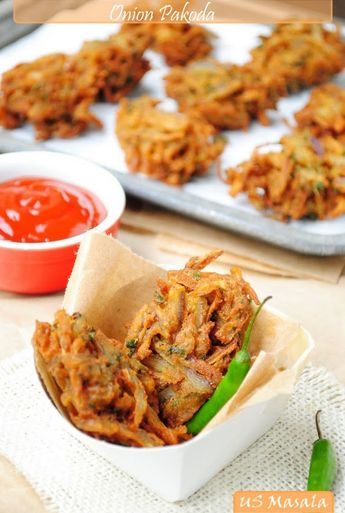 onion bahjis- my favourite Indian snack food! like onion rings, but even better.