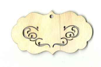 Laser Cut Wood Shape DSY1 Minnie Mouse