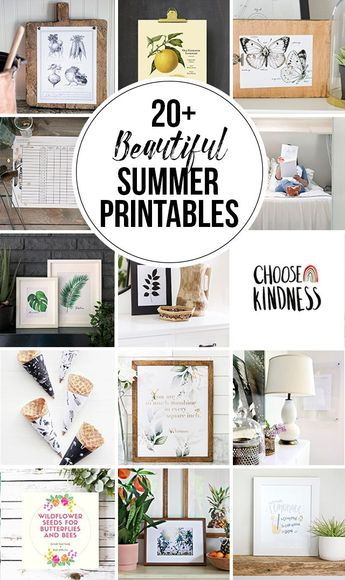 Tropical Leaf Free Printable Art -Series of 9 | The Happy Housie | Beautiful free summer printables with customizable options and easy to download for your summer home decor. #summerdecor #plants
