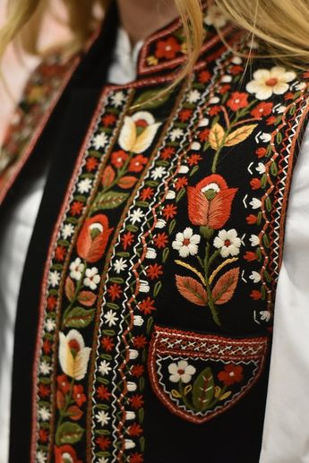 Embroidered vest Black pearl hand made vest hand embroidery black short vest bohemian suede vest ethnic women vest warm short vest Embroidered vest - my incredibly beautiful gorsik, buzrukavka or kamizelka. The winter season is not a reason to abandon the stylish wardrobe. This