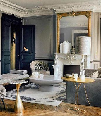 Classic Parisian Style @annesophie.pailleret vis @cruiserlars . . . . #art #apartment #architecture #bedroom #kitchen #chic #design #detail…