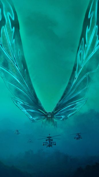 Godzilla: King of the Monsters (2019) Phone Wallpaper