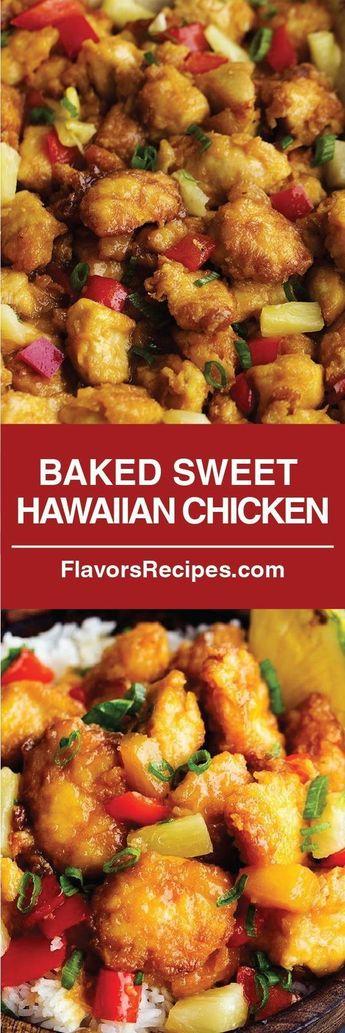 BAKED SWEET HAWAIIAN CHICKEN