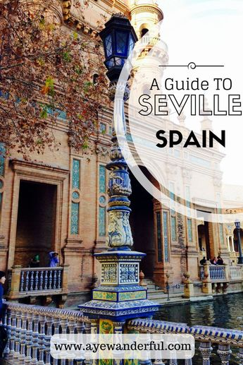 One day in Seville, Spain