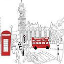love this graphic of another London Bus