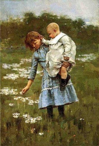 Theodore Robinson ~ Impressionist/Realist painter