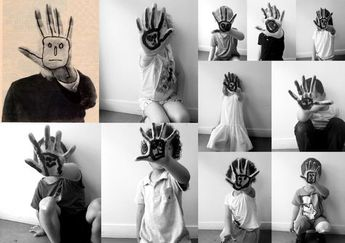 les petites têtes de l'art: D'après Saul Steinberg