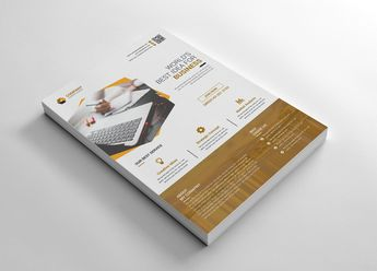Graphic Business Flyer Corporate Identity Template #66248