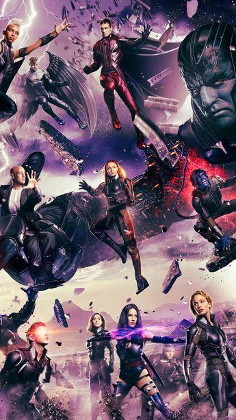 X-Men: Apocalypse (2016) Phone Wallpaper