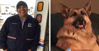 Mailman Fulfills the Final Wish of a German Shepherd On His Route That Passed Away