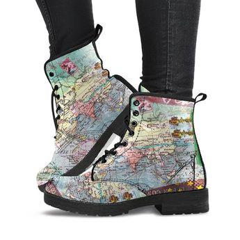 Wanderlust - Vegan Boots