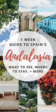 You HAVE to travel t You HAVE to travel to Andalucia Spain (sometimes spelled Andalusia). It has some of the beautiful places from the Alhambra in Granada to Cordoba and more. Here's my 1 week itinerary filled with things to do and places to see.