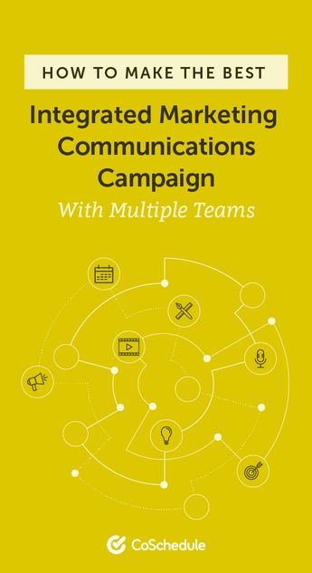 Integrated Marketing Communications: Build A Cross-Team Campaign