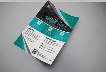 Royal Modern Business Flyer Design Template - Graphic Templates