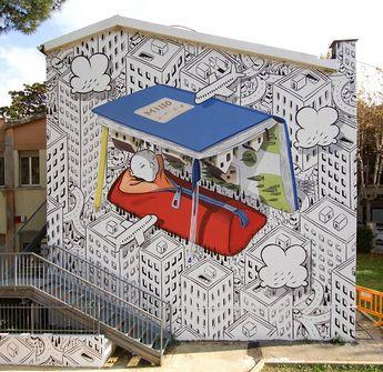 Arte de Rua por Francesco Camillo Giorgino