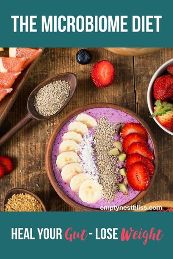 Microbiome Diet: How Healing Your Gut Can Help You Lose Weight