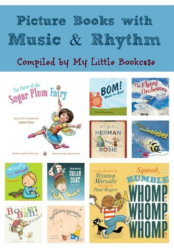 Picture books with music and rhythm_My Little Bookcase