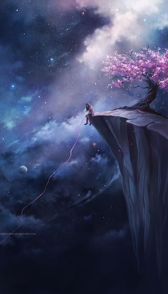 Miraculous Scenery Illustrations By Niken Anindita
