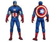 Мстители - Капитан Америка Вер. 3 бесплатно Papercraft Скачать