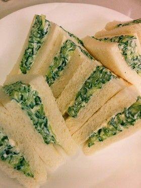 キュウリとクリームチーズのサンドイッチ by mariran