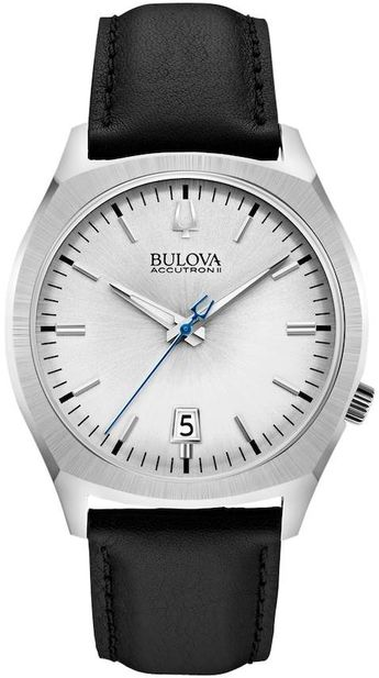765e3e16d65 Bulova Men s Accutron II Leather Watch