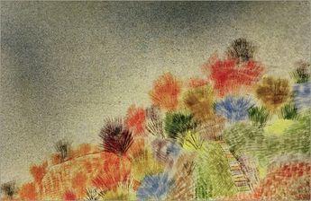 Buissons au printemps Paul Klee