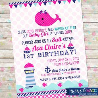 sailor girl nautical birthday party planning ideas decorat