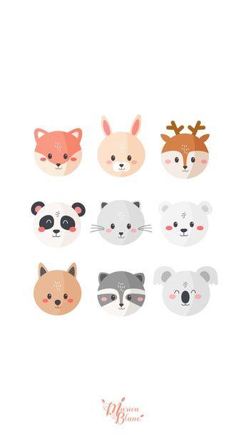 Wallpaper Iphone - Animals - Marion Blanc ,  #wallpaperiphone6