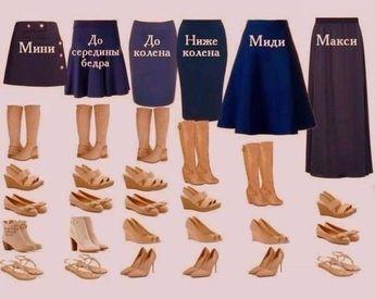 Etek boyu ve ayakkabı modelleri