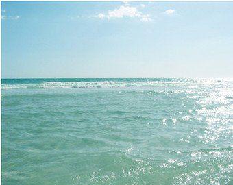 Seascape Art, Ocean Prints, Beach Wall Art, Vintage Beach Artwork, Vertical Photography, 11x14 Art Prints, Peaceful Artwork