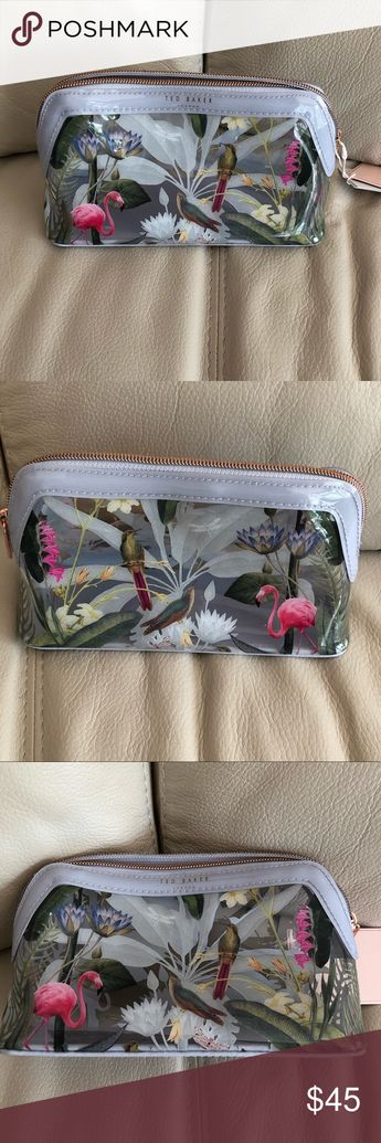 Ted Baker Makeup Bag - New with Tags Ted Baker Makeup Bag - New with Tags Ted Baker Bags Cosmetic Bags & Cases