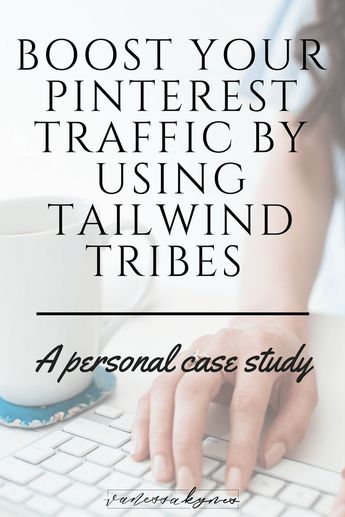 Boost your blog traffic with Tailwind Tribes - Vanessa Kynes