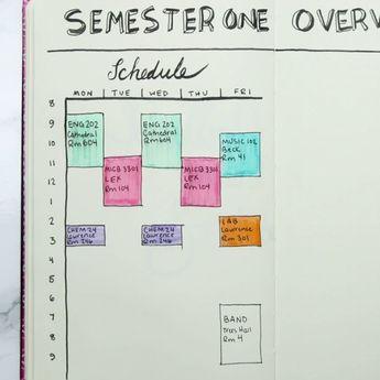 Bullet Journal For Students - C'est génial si vous êtes étudiant ou avez besoin de bloquer ... - New Ideas