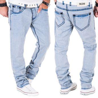 Kleidung & Accessoires Kosmo Lupo Herren Jeans Hose Denim