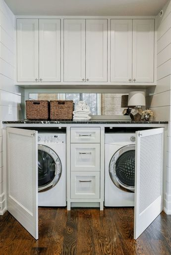 30+ Fascinating Small Laundry Room Design Ideas